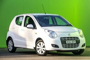 2010 Suzuki Alto GF GLX White 4 Speed Automatic Hatchback Ringwood East Maroondah Area Preview