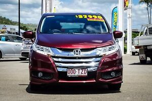 2014 Honda Odyssey RC MY14 VTi-L Carnelian Red 7 Speed Constant Variable Wagon Garbutt Townsville City Preview