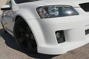 2009 Holden Commodore VE MY09.5 SS White 6 Speed Manual Sedan Wolli Creek Rockdale Area Preview