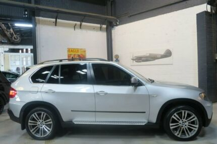 2009 BMW X5 E70 MY10 xDrive48i Steptronic Silver 6 Speed Sports Automatic Wagon Port Melbourne Port Phillip Preview