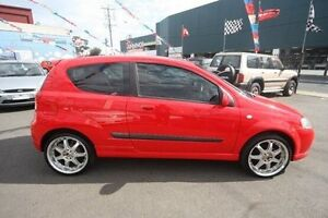 2007 Holden Barina TK MY08 Red 5 Speed Manual Hatchback Kingsville Maribyrnong Area Preview