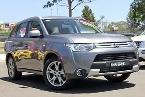 2015 Mitsubishi Outlander ZJ MY14.5 ES 4WD Grey 6 Speed Constant Variable Wagon Blacktown Blacktown Area Preview
