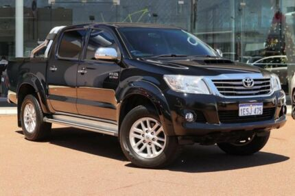 2014 Toyota Hilux KUN26R MY14 SR5 Double Cab Ink 5 Speed Automatic Utility Osborne Park Stirling Area Preview