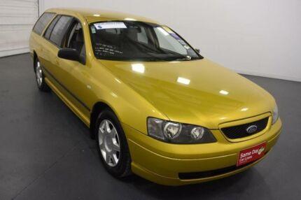 2003 Ford Falcon BA XL Gold 4 Speed Auto Seq Sportshift Cab Chassis