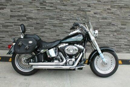 2008 Harley-Davidson FLSTF Fat Boy 1600CC Cruiser 1584cc Kunda Park Maroochydore Area Preview