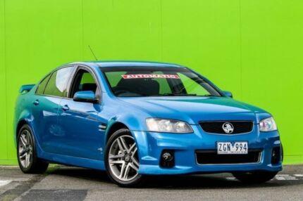 2012 Holden Commodore VE II MY12 SV6 Blue Gem 6 Speed Sports Automatic Sedan Ringwood East Maroondah Area Preview