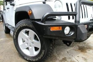 2015 Jeep Wrangler JK MY15 Sport (4x4) White 5 Speed Automatic Softtop Petersham Marrickville Area Preview
