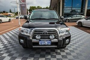 2012 Toyota Landcruiser VDJ200R MY12 Sahara Black 6 Speed Sports Automatic Wagon Alfred Cove Melville Area Preview