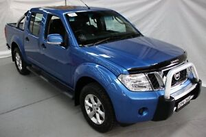 2013 Nissan Navara D40 S6 MY12 ST Blue 6 Speed Manual Utility Maryville Newcastle Area Preview