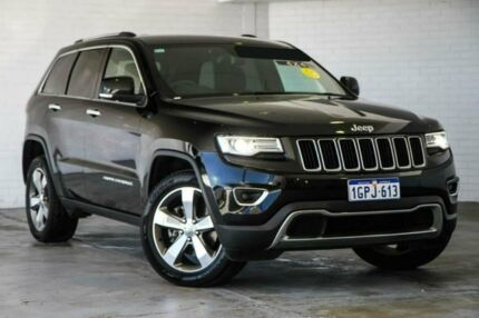 2014 Jeep Grand Cherokee WK MY2014 Limited Black 8 Speed Sports Automatic Wagon Midvale Mundaring Area Preview