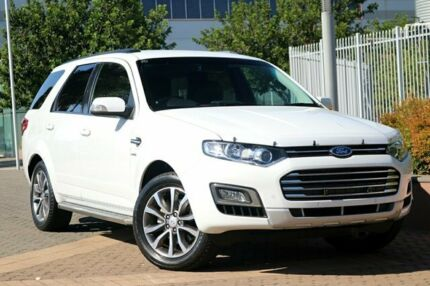 2016 Ford Territory SZ MkII Titanium Seq Sport Shift AWD White 6 Speed Sports Automatic Wagon Wayville Unley Area Preview
