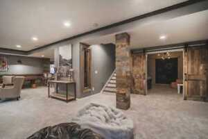 BASEMENTS, FROM FRAME TO FINISH( WE WORK WITH YOUR BUDGET)