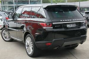 2015 Land Rover Range Rover Sport L494 15.5MY TdV6 CommandShift SE Black 8 Speed Sports Automatic Petersham Marrickville Area Preview
