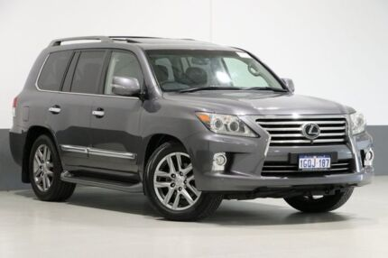 2012 Lexus LX570 URJ201R MY12 Graphite 6 Speed Automatic Wagon Bentley Canning Area Preview