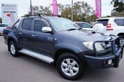 2010 Toyota Hilux KUN26R MY10 SR5 Silver 5 Speed Manual Utility Phillip Woden Valley Preview