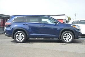 2015 Toyota Kluger GSU55R GX AWD Blue 6 Speed Sports Automatic Wagon Hillcrest Port Adelaide Area Preview