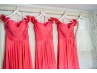 X2 Bridesmaid dresses