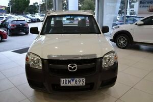 2007 Mazda BT-50 UNY0W3 DX White 5 Speed Manual Cab Chassis Mill Park Whittlesea Area Preview