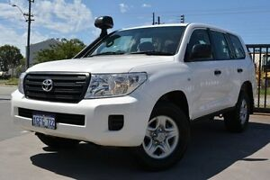 2015 Toyota Landcruiser VDJ200R MY13 GX (4x4) Glacier White 6 Speed Automatic Wagon Welshpool Canning Area Preview