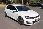 2013 Volkswagen Golf VII MY14 GTI DSG White 6 Speed Sports Automatic Dual Clutch Hatchback Thebarton West Torrens Area Preview