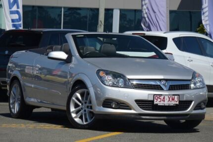 2006 Holden Astra AH MY07 Twin TOP Silver 4 Speed Automatic Convertible
