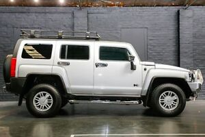 2008 Hummer H3 Luxury Silver 4 Speed Automatic Wagon Northbridge Perth City Area Preview