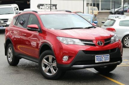 2014 Toyota RAV4 ZSA42R MY14 GXL 2WD Wildfire 7 Speed Constant Variable Wagon Claremont Nedlands Area Preview