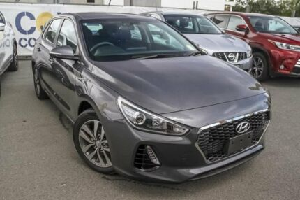 2017 Hyundai i30 PD MY18 Active Iron Grey 6 Speed Sports Automatic Hatchback Aspley Brisbane North East Preview