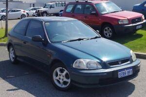 1998 Honda Civic EK CXi Green 5 Speed Manual Hatchback Myaree Melville Area Preview
