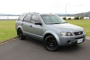2006 Ford Territory SY TX Grey 4 Speed Sports Automatic Wagon Invermay Launceston Area Preview