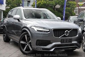 2017 Volvo XC90 L Series T6 R-Design Savile Grey 8 Speed Automatic Wagon Mount Gravatt Brisbane South East Preview