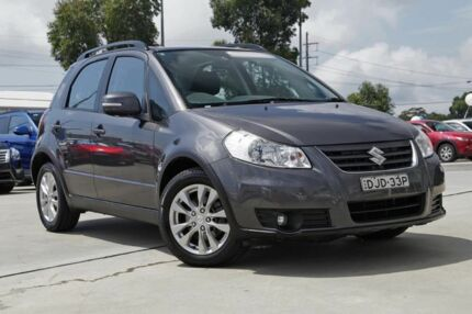 2012 Suzuki SX4 GYA MY13 Crossover AWD Grey 6 Speed Constant Variable Hatchback Kirrawee Sutherland Area Preview