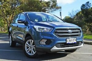 2018 Ford Escape ZG 2018.75MY Ambiente 2WD Blue Metallic 6 Speed Sports Automatic Wagon Medindie Walkerville Area Preview