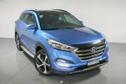 2015 Hyundai Tucson TLE Highlander D-CT AWD Blue 7 Speed Sports Automatic Dual Clutch Wagon Waitara Hornsby Area Preview