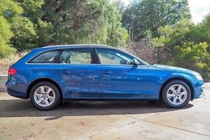2011 Audi A4 B8 8K MY11 Avant Multitronic Blue 8 Speed Constant Variable Wagon Glendalough Stirling Area Preview