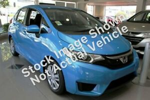 2014 Honda Jazz GK MY15 VTi Blue Continuous Variable Hatchback