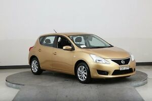 2013 Nissan Pulsar C12 ST Gold Continuous Variable Hatchback Smithfield Parramatta Area Preview