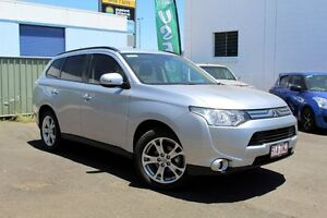 2013 Mitsubishi Outlander ZJ MY14 LS 4WD Silver 6 Speed Constant Variable Wagon Toowoomba Toowoomba City Preview