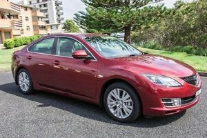 2008 Mazda 6 GH1051 CLASSIC SEDAN 4DR SA 5S Copper Red SEMI AU Port Macquarie Port Macquarie City Preview