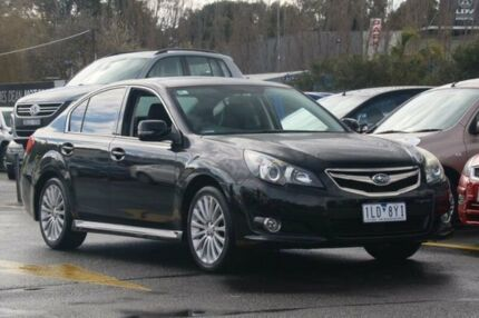 2009 Subaru Liberty B4 MY09 Premium AWD Black 4 Speed Sports Automatic Sedan Ringwood East Maroondah Area Preview