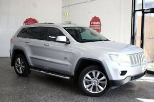 2011 Jeep Grand Cherokee WK MY2011 Limited 70th Anniversary Silver 5 Speed Sports Automatic Wagon Frankston Frankston Area Preview