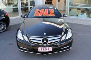 2011 Mercedes-Benz E250 C207 MY12 BlueEFFICIENCY 7G-Tronic + Elegance Black 7 Speed Sports Automatic Mount Gravatt Brisbane South East Preview
