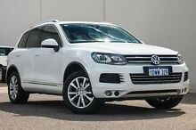 2012 Volkswagen Touareg 7P MY12.5 V6 TDI Tiptronic 4XMotion White 8 Speed Sports Automatic Wagon Bellevue Swan Area Preview
