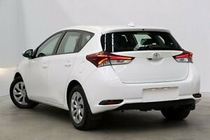 2015 Toyota Corolla ZRE182R Ascent S-CVT Glacier White 7 Speed Constant Variable Hatchback Seven Hills Blacktown Area Preview