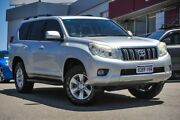 2010 Toyota Landcruiser Prado KDJ150R GXL Silver 5 Speed Sports Automatic Wagon Myaree Melville Area Preview