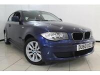 2010 60 BMW 1 SERIES 2.0 118D ES 3DR AUTOMATIC 141 BHP DIESEL
