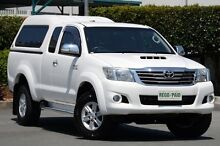2011 Toyota Hilux KUN26R MY12 SR5 Xtra Cab Glacier White 5 Speed Manual Utility Acacia Ridge Brisbane South West Preview
