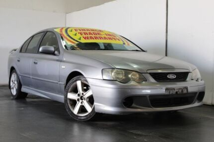 2003 Ford Falcon BA XR6 Silver 4 Speed Auto Seq Sportshift Sedan Underwood Logan Area Preview