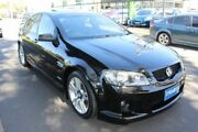 2010 Holden Commodore VE MY10 SV6 Black 6 Speed Sports Automatic Sedan West Footscray Maribyrnong Area Preview