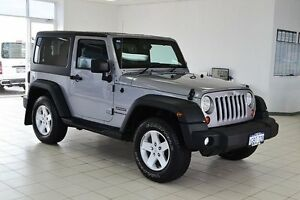 2013 Jeep Wrangler JK MY13 Sport (4x4) Silver 5 Speed Automatic Softtop Morley Bayswater Area Preview